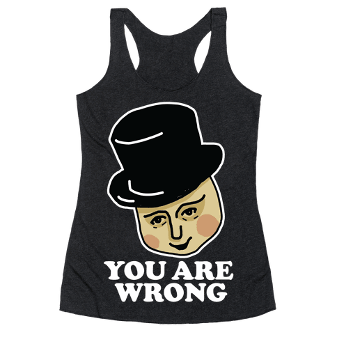 The Fat Conductor Racerback Tank Top