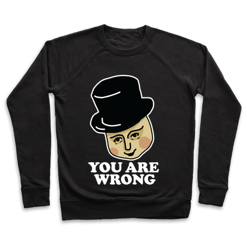 The Fat Conductor Pullover