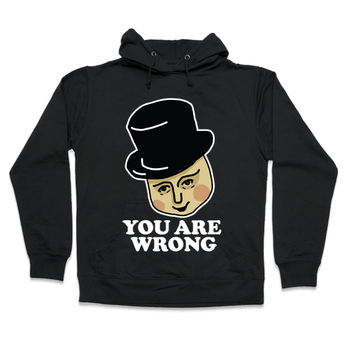 The Fat Conductor Hooded Sweatshirt