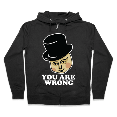 The Fat Conductor Zip Hoodie