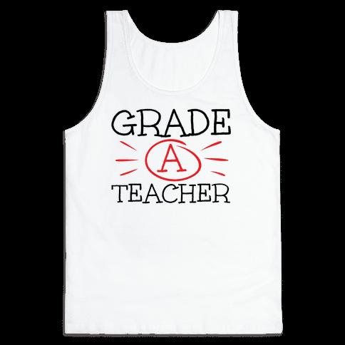 Grade A Teacher Tank Top