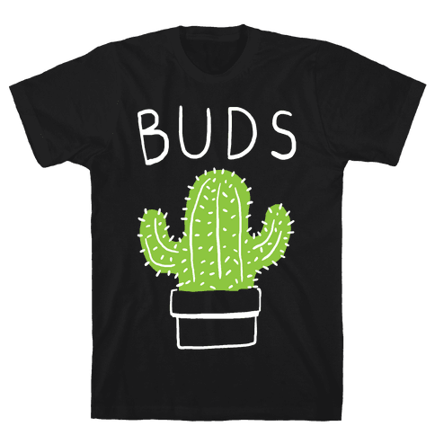 Best Buds Cactus Mens T-Shirt