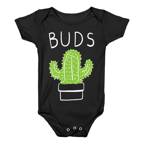 Best Buds Cactus Baby Onesy
