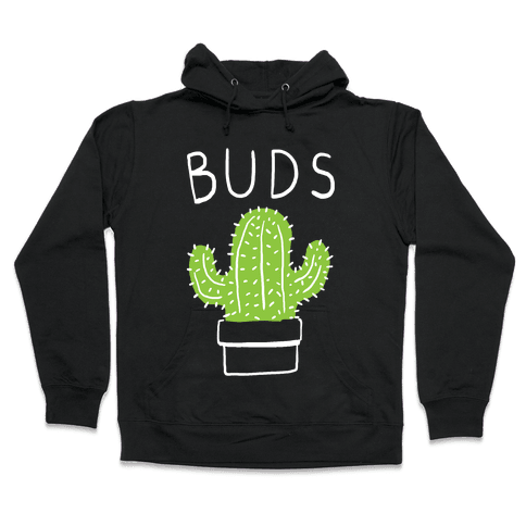 Best Buds Cactus Hooded Sweatshirt