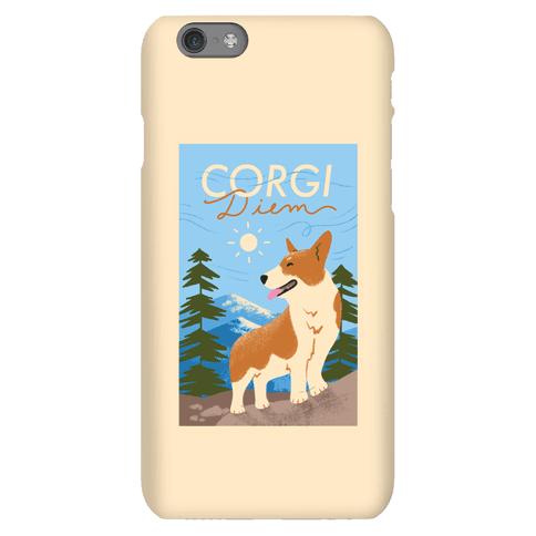 Corgi Diem Phone Case