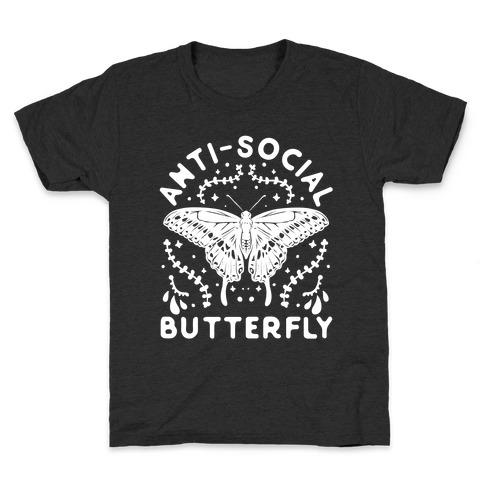 Anti-Social Butterfly Kids T-Shirt