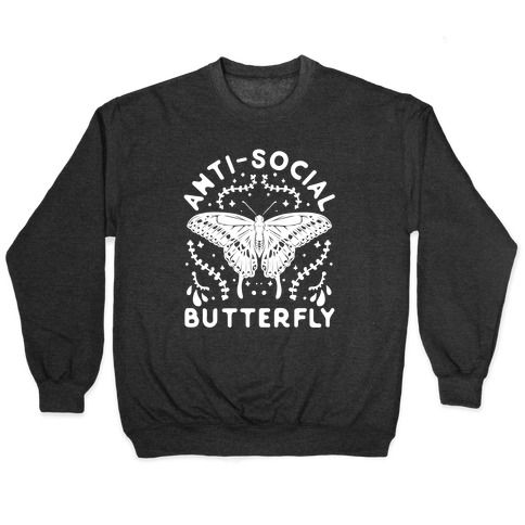 Anti-Social Butterfly Pullover