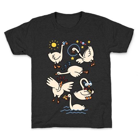 Silly Goose Studies Kids T-Shirt