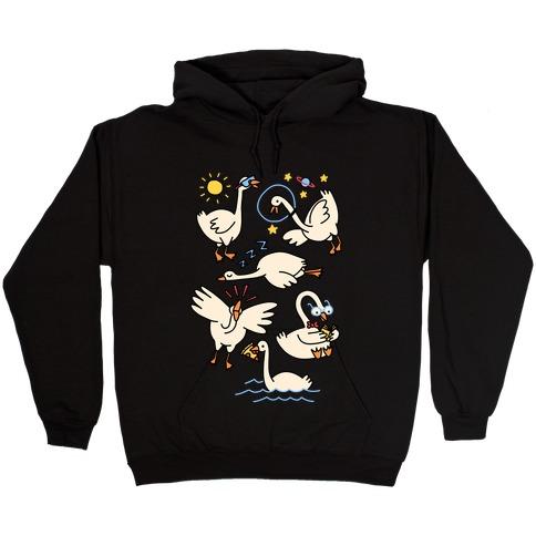 Silly Goose Studies Hooded Sweatshirt