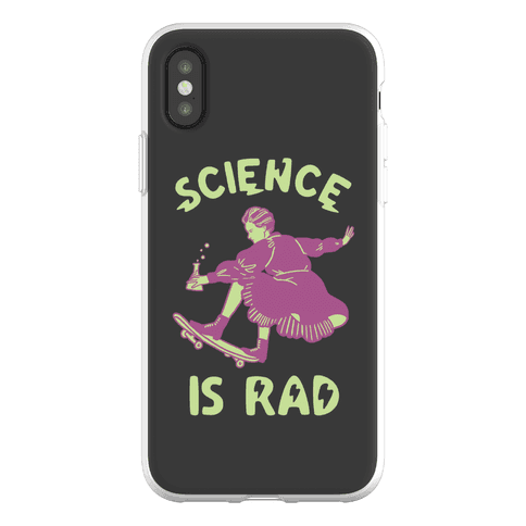 Science Is Rad (Marie Curie) Phone Flexi-Case