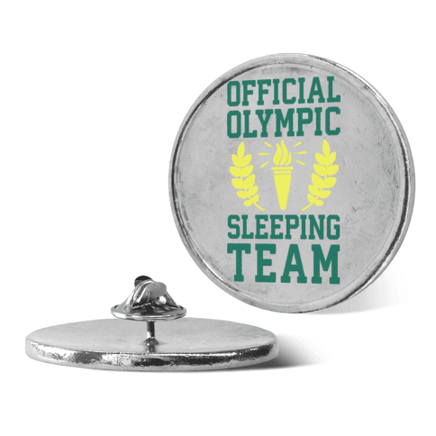 Official Olympic Sleeping Team pin