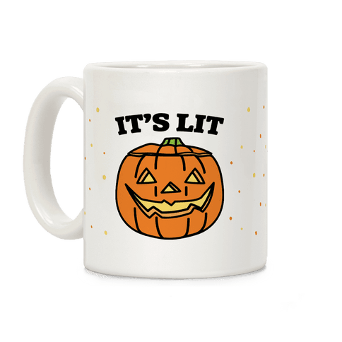 It's Lit Jack o' Lantern Coffee Mug
