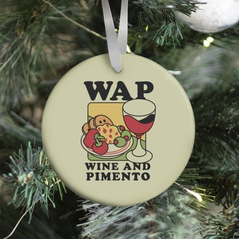 WAP (Wine And Pimento) Ornament