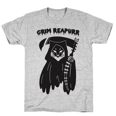 Grim Reapurr Cat T-Shirt
