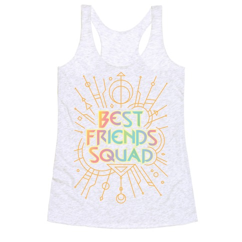 Best Friends Squad Racerback Tank Top