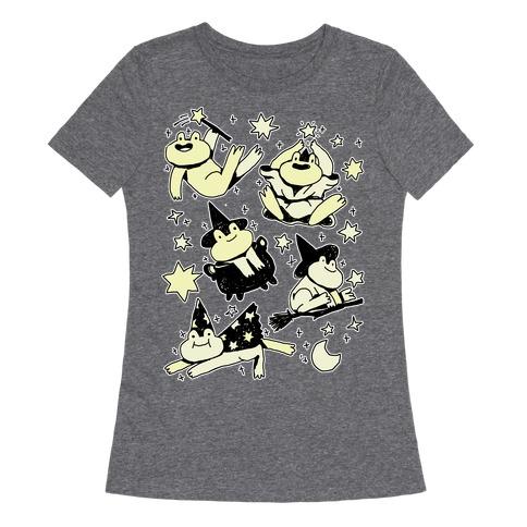 Magic Frogs Womens T-Shirt