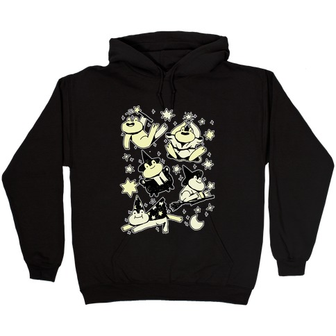 Magic Frogs Hooded Sweatshirt