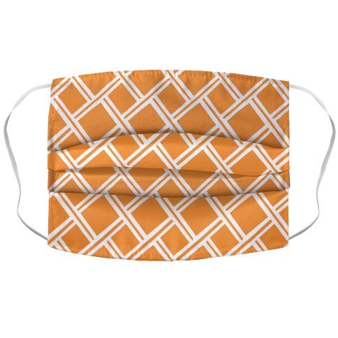 Weaving Pattern Accordion Face Mask