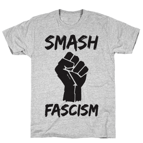 Smash Fascism Mens T-Shirt