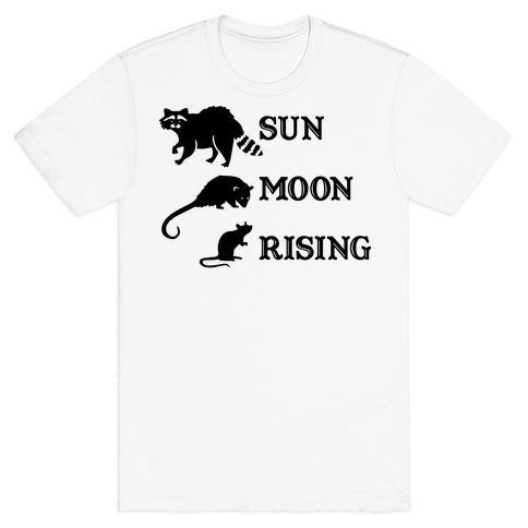 Big Three Astrology Trash Animals T-Shirt