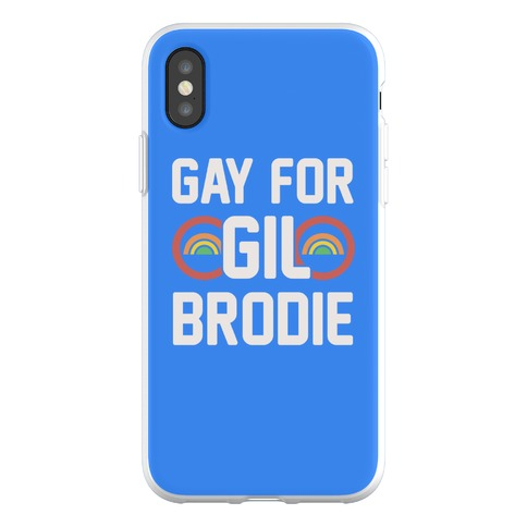 Gay For Gil Brodie Phone Flexi-Case