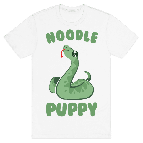Noodle Puppy Mens T-Shirt