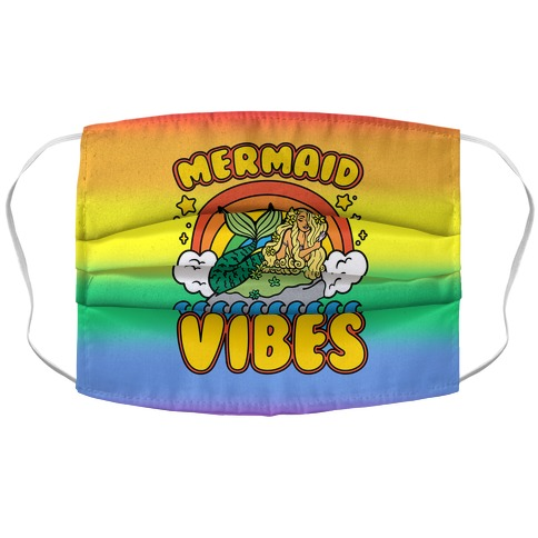 Mermaid Vibes Face Mask Cover