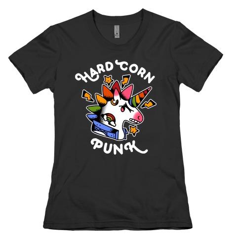 Hard Corn Punk Womens T-Shirt