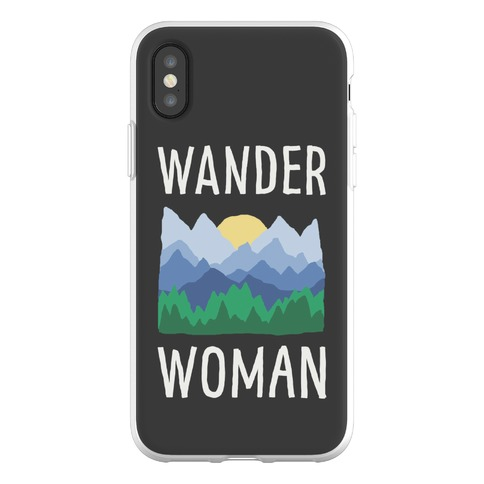 Wander Woman Phone Flexi-Case