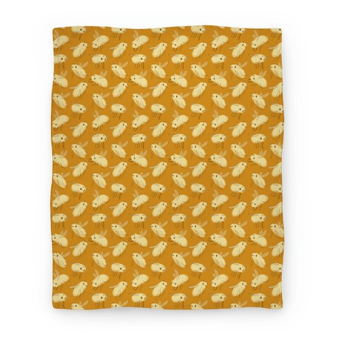 Bee Fly Pattern Blanket