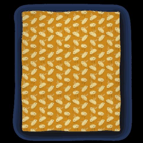 Bee Fly Pattern Blanket