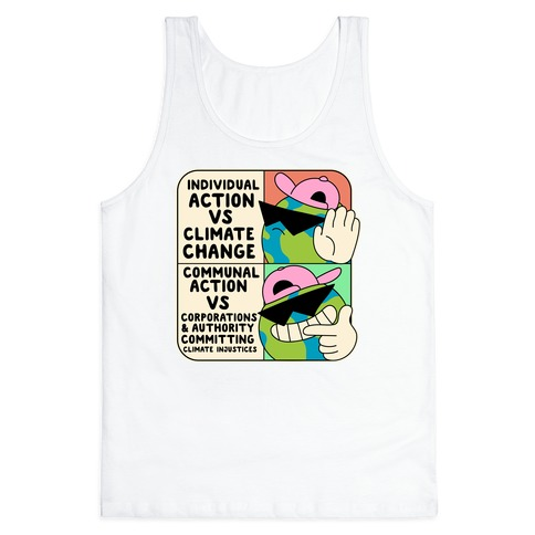 Cool Earth Meme Tank Top