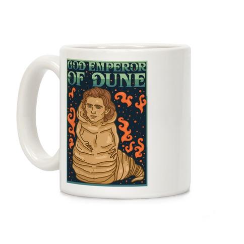God Emperor Of Dune Timothe Chalamet Coffee Mug