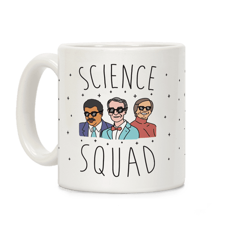 Science Squad Coffee Mug