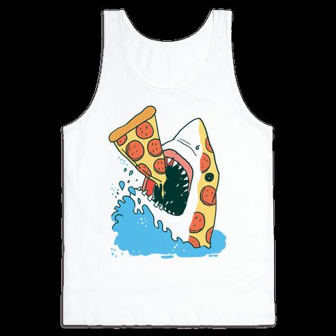 Pizza Shark Tank Top