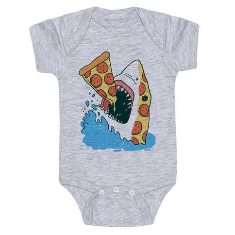 Pizza Shark Baby Onesy