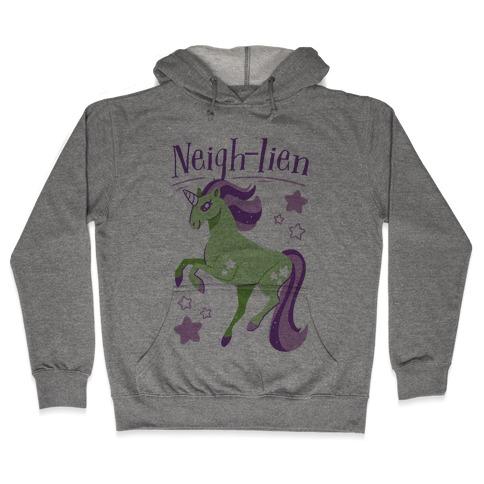 Neigh-lien Hooded Sweatshirt