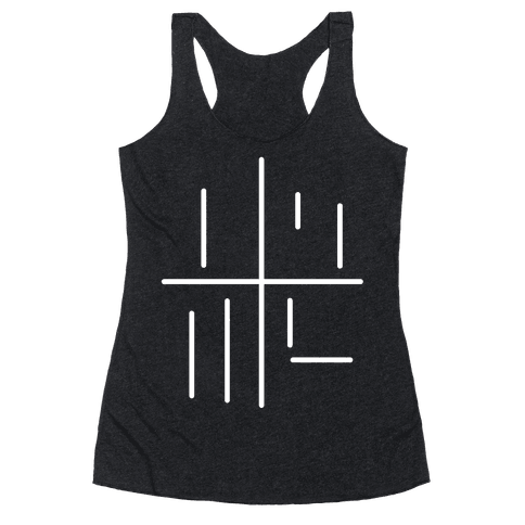 Loss.jpg Racerback Tank Top