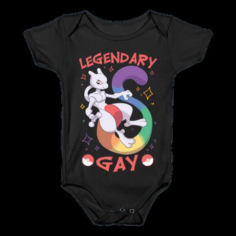 Legendary Gay Baby Onesy