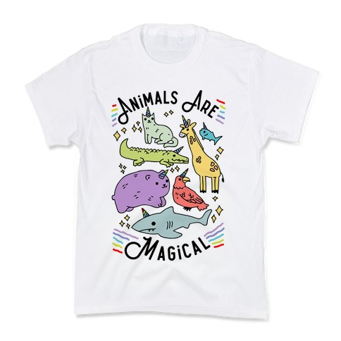 Animals Are Magical Kids T-Shirt