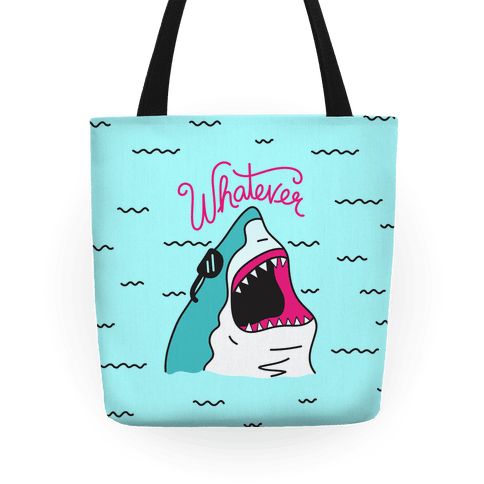 Whatever Shark Tote