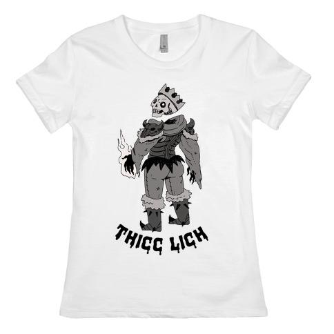 Thicc Lich Womens T-Shirt