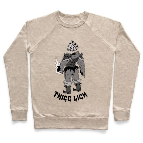 Thicc Lich  Pullover