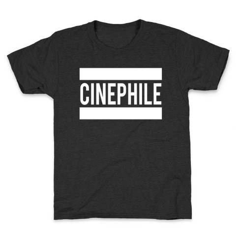 Cinephile Kids T-Shirt