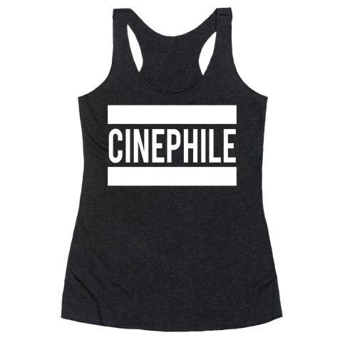 Cinephile Racerback Tank Top