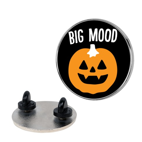 Big Mood Jack-o-lantern Pin