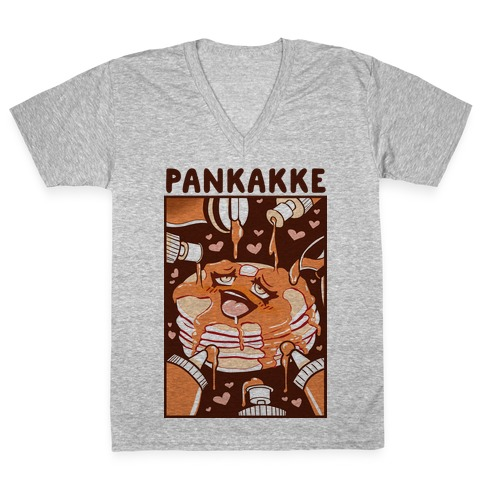 Pankakke V-Neck Tee Shirt