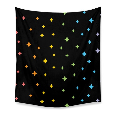 Rainbow Sparkles  Tapestry