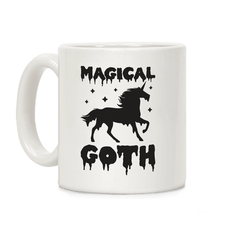 Magical Goth Unicorn Coffee Mug