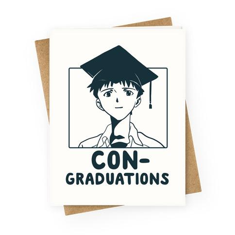 Con-graduations, Shinji-kun Greeting Card